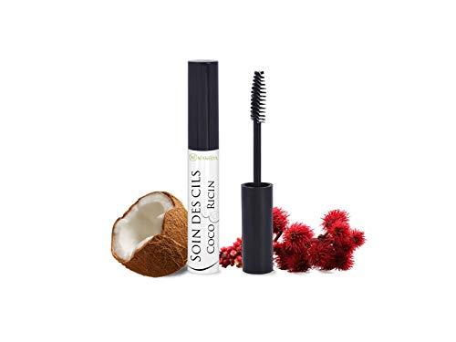 Mascara à l'huile de coco et huile de ricin | Soins des cils | Contenance 10ml | Fabrication française