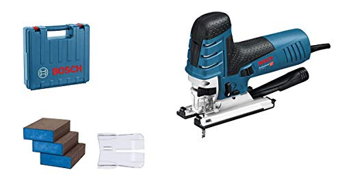 Bosch Professional GST 150 CE - Sierra de calar, 780 W, 500-3100 cpm, profundidad de corte 150 mm, 3 esponjas de lija, en maletín, Amazon Edición