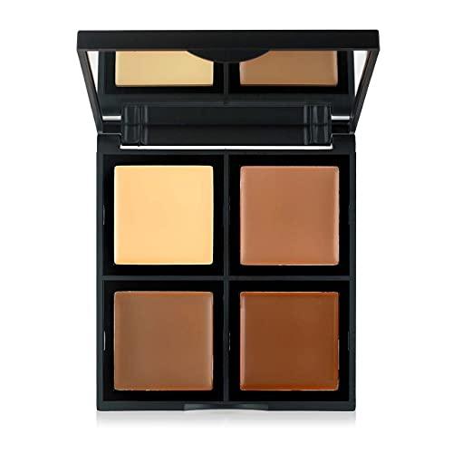 Cream Contour Palette by e.l.f. for Women - 0.43 oz Palette - (Pack of 2)