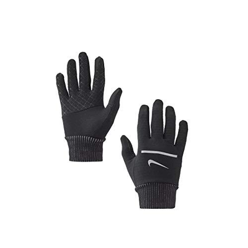 Nike - Guanti da corsa da uomo Sphere 2.0, misura XL, colore: Nero/Argento