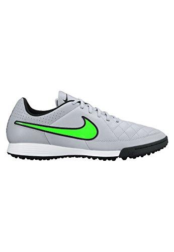 Nike Tiempo Genio Leather TF Black/SPRNG Leaf-CRG KHK-White - 7