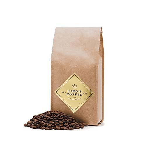 KING'S COFFEE – SPECIAL ROAST | Premium Barista Kaffeebohnen | feinster Arabica-Robusta Blend | kleine Chargen-Röstung aus Italien | ganze Espresso-Bohnen für Vollautomaten & Siebträger