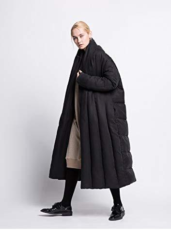 DPKDBN Vrouwen Down Jacket, winter lang donsjack vrouwen jas dikker jas- losse warme parkas mantel type outwear zachte stof comfortabel