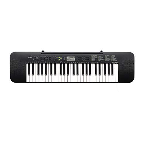 Casio CTK-240 - Tastiera Pianoforte Digitale a 49 Tasti, 100 Timbri, 100 ritmi e 50 Brani, Nero, 91.4 × 23.7 × 7.5 cm