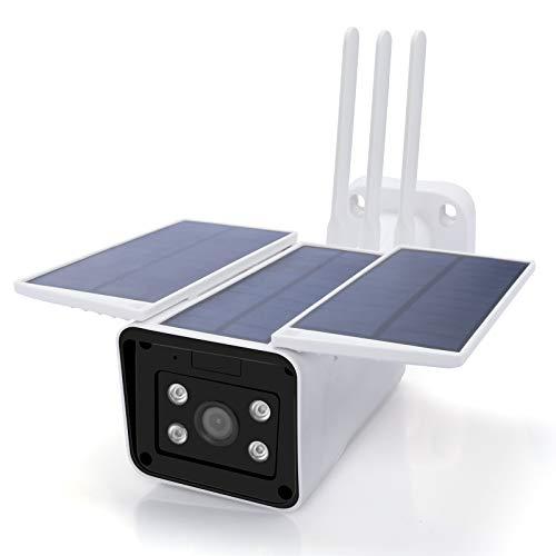 Panoraxy WiFi Security Solar Camera Outdoor,...