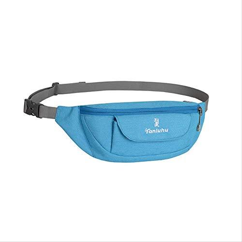 FHDC heuptas voor sport en hardlopen, waterdichte tassen voor mannen en vrouwen, multifunctionele fitnesstassen, random color (blauw) - 7894395517266