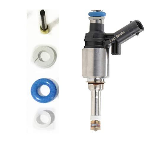 1 Satz Kraftstoffeinspritzdüse-Reparatursatz for G-D-I Einspritzventile Ersatzmikrofilter Gummi-O-Ring Spacer (AY-RK904)