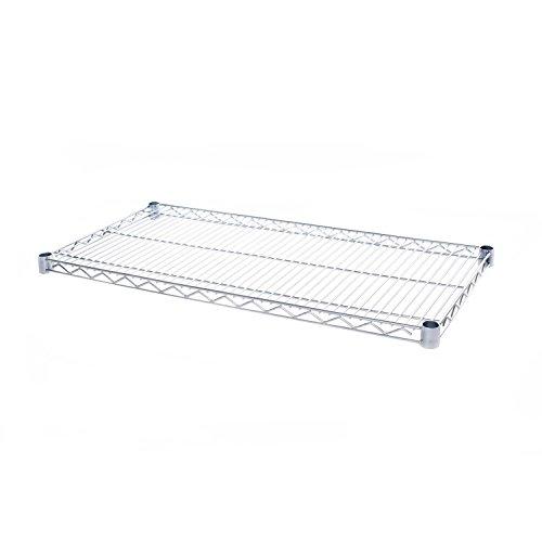 Seville Classics Ultradurable Commercial Grade NSF Certified Steel Wire W Shelf, 36', Chrome