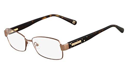 NINE WEST Eyeglasses NW1021 250 Tan 54MM