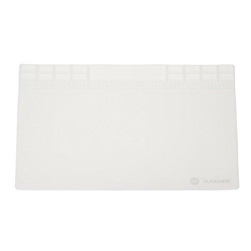 Hitzeresistente Silikon-Pad, BGA-Lötreparaturstation, 35 x 25 cm, 3 Farben, weiß