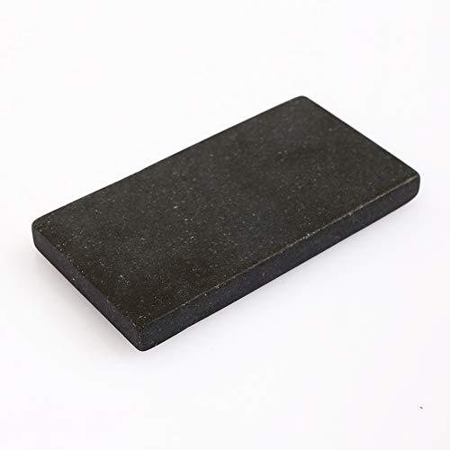 Or Test Stone Météorite Ardoise Noir Durable Identification Pratique Outils D'orfèvre Outils D'essai Or Touchstone