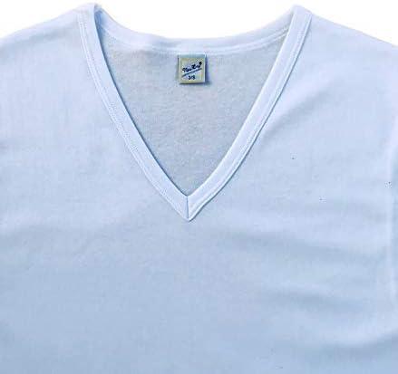 3 Maglie Intime per Uomo Manica Corta in Caldo Cotone New Day intimo eccezionale Made in Italy con Collo Tondo o Collo a V