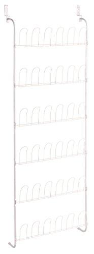 Zeller 13117 Türhänger, Metall, weiß, 56 x 14.5 x 159.5 cm