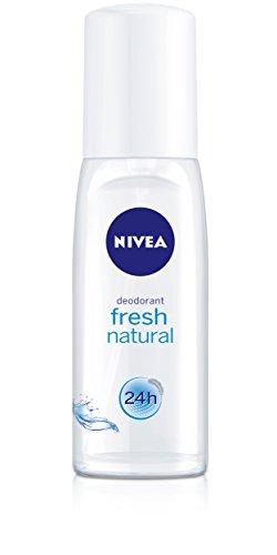 Nivea Deo Fresh Natural Zerstäuber, ohne Aluminium, Doppelpack, (2 x 75 ml)