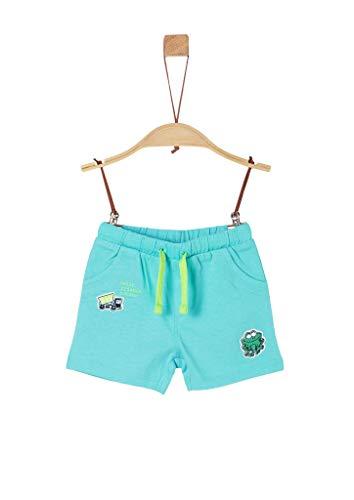 s.Oliver Junior Baby-Jungen 405.10.004.18.183.2038039 Lässige Shorts, 6224 türkisblau, 86