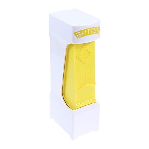 EUBEISAQI Cortador de mantequilla con un solo clic en un práctico dispensador de cortador de queso de mantequilla para aparatos domésticos