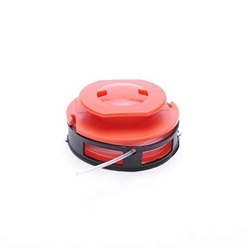 2Stück Fadenspulen, anpassungsfähig, für Rasentrimmer Black & Decker und Einhell