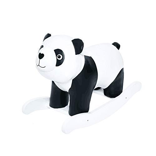 SXNYLY Baby Rocking Horse Panda Animal, 1-3 Years Old Children's Riding Toy, Baby PU Leather Animal Rocking Chair, Toddler Children's Riding Toy