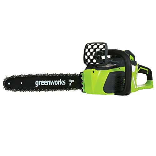 Greenworks Tronçonneuse à batterie GD40CS40 (Li-Ion...