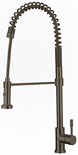 Whitehaus whs1634-sk waterhaus Pullout spray grifo de la cocina con dos modo Spray,, WHS1634-SK-BSS