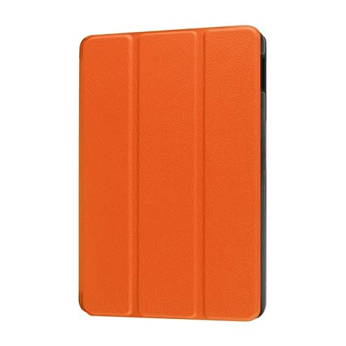 RZL PAD & TAB cases For Huawei MediaPad T3 8.0 KOB-L09 KOB-W09, Flip Stand Leather Fundas+Stylus Film Tablet Case Cover For Honor Play Pad 2 8.0 (Color : Orange)