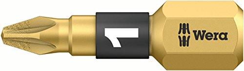 Wera 05073336001 Embout 855/1 BDC SB 1 x PZ 1x25mm, Or/Noir