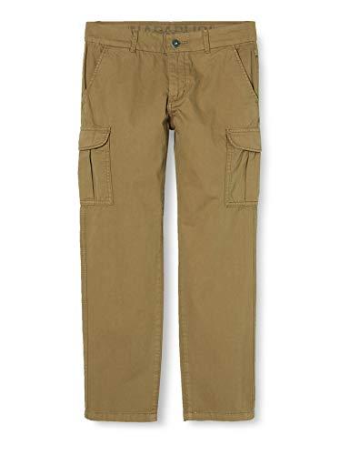 Napapijri Jungen K Moab Sum 1 Hose, Braun (Kangaroo Brown W051), 140 (Herstellergröße:10)