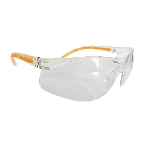 Color Yun Protección UV Gafas de Seguridad Laboratorio antiimpacto para el Lugar de Trabajo Gafas de Laboratorio (Transparente)