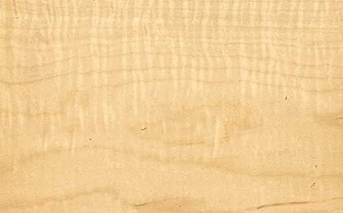 Wood Bowl Blank: Curly Hard Maple (6x6x2)