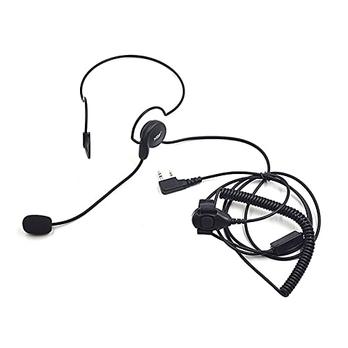 ZRNG 5 unids PTT Auricular Auricular Auriculares Ajuste para Kenwood TK3107 Baofeng Radio UV 5R BF-888S GT-3TP UV-B6 Walkie Talkie Accesorios Nuevo