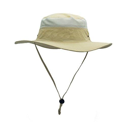 gg st Sonnenhut Herren Damen UPF 50+ Outdoor UV Schutz Mesh Summer Hut Hiking Fischerhut Strand Faltbar Safari Buschhüte Cap