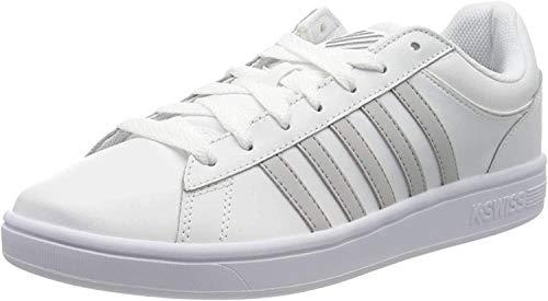 K-Swiss Herren Court Winston Sneaker, Weiß (White/Vapor Blue 142), 42.5 EU