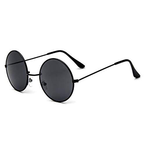 CHENG/ CHENG Sonnebrille Klassische Runde Sonnenbrille Männer Kleine Vintage Brille Frauen Fahren Metall Eyewear