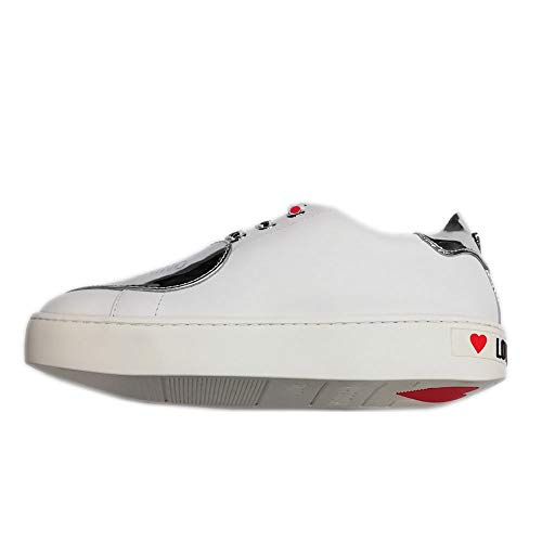 Love Moschino sneakers dames brievenbus wit SPE ARG JA15183G17IA210A