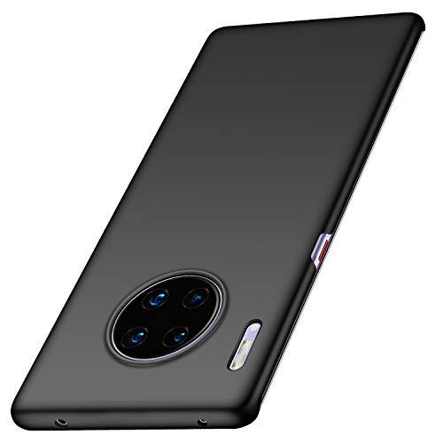 Arkour Huawei Mate 30 Pro Hülle, Minimalistisch Superdünne Leichte Slim Fit Handyhülle mit Glattes Matte Oberfläche Hard Hülle für Huawei Mate 30 Pro (Schwarz)