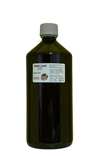 SmokerFuchs Deutsche Liquid Base 1 Liter nikotinfrei PG/VG 70/30