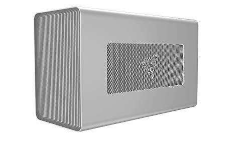 Razer Core X - Mercury White 外付けGPU(eGPU)BOX ThunderBolt 3 650W Windows Mac 両対応【日本正規代理店保証品】RC21-01310200-R3J1