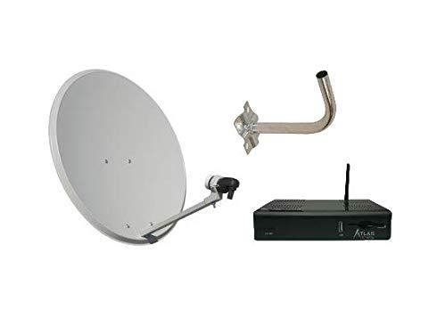 Kit Parabólica 60cm + LNB + Soporte + Atlas HD-200 SE