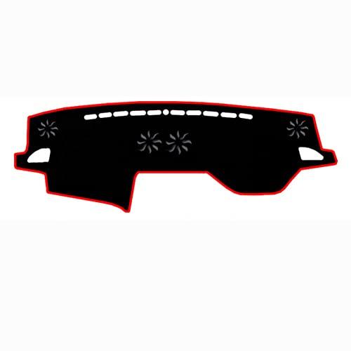 QWSNED Almohadilla de salpicadero, cojín de poliéster para salpicadero, almohadilla de panel de instrumentos resistente al calor, para Subaru Legacy (2015-2019)