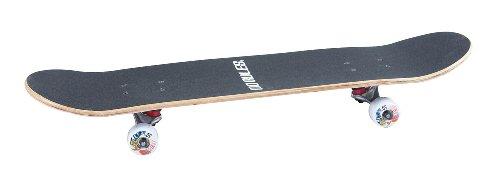 Authentics Sports Skateboard No Rules ABEC 3 Halway Patrol, schwarz, 3101