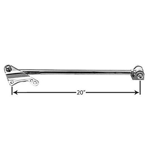 Plain Steel Bolt-On Rear Panhard Bar, For Fits Ford 8 & 9 Inch Axle