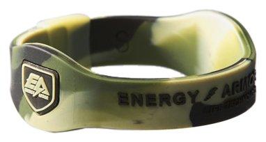 Energy Armor - Pulsera de Silicona Unisex Multicolor Camo/Black Talla:Extra-Large