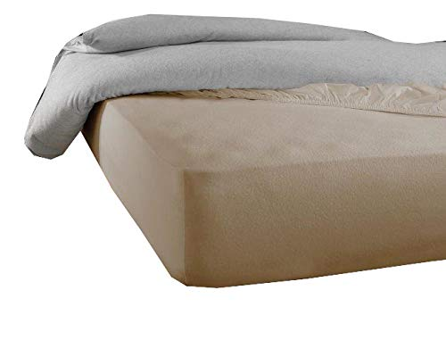 De Witte Lietaer Protector de colchón Skin120 x 190/200 cm h40 Tencel PU Beige