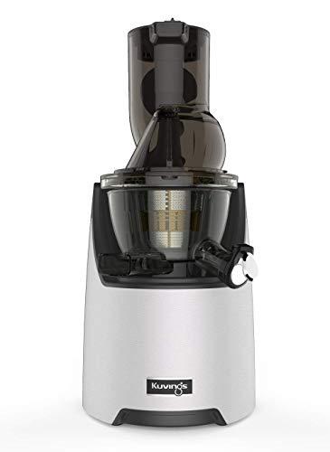 Kuvings Whole Slow Juicer EVO820 - Entsafter für Früchte und Gemüse - mit XXL Trichter zum einfachen Befüllen ohne Zerkleinern. BPA-frei. Zur Herstellung von Säften und Mischsäften.