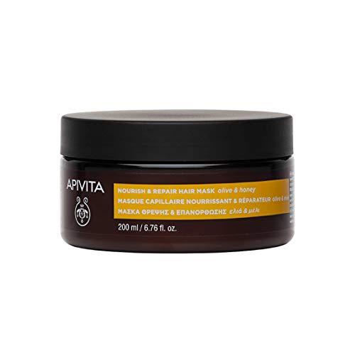 Apivita - Mascarilla capilar nutritiva y reparadora oliva & miel