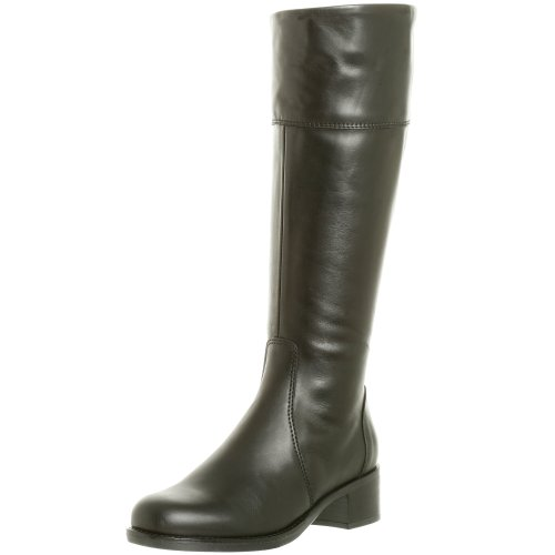 La Canadienne Women's Passion Leather Riding Boot,Black,5 M