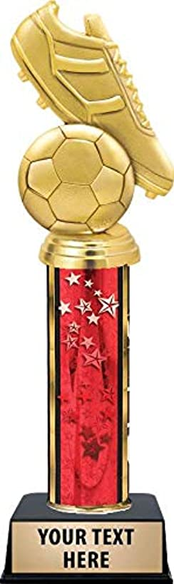 Crown Awards Soccer Tournament Trophies, Soccer Ball Trophy Great Soccer Trophy for Kids with Customized Engraving Prime
