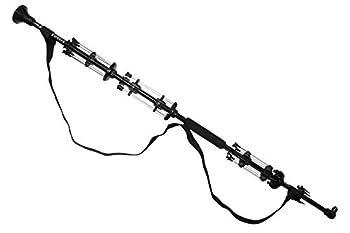 Berserker Blowguns 48   2 Pc  - .50 Cal Big Bore WAR Odin Blowgun with 44 Darts - Black from
