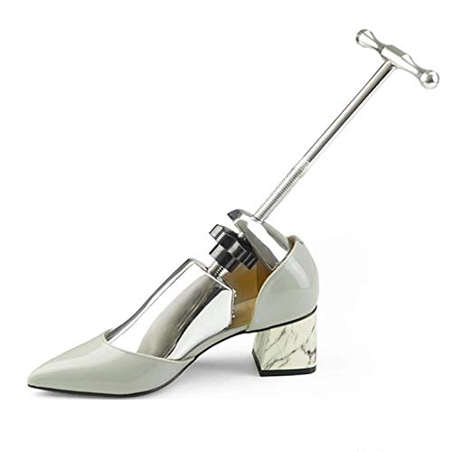 SJYSD-Bath Mat Estirador de Zapatos Árboles de Zapatos Ajustables en aleación de Aluminio, expansor Moldeador Extensor de Ancho para Hombres, Mujeres, Zapatos, porteros, Zapatos, Accesorios
