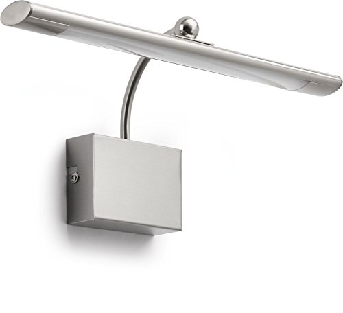 Philips Lighting myLiving Mahogany Aplique LED, 5 W, Cromada